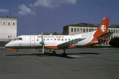 Lithuanian Airlines SAAB 340B LY-SBA (msn 248) IEV (Rolf Wallner). Image: 951431.