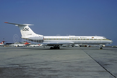 Lithuanian Airlines-LAL Tupolev Tu-134A LY-ABD (msn 60054) IST (Christian Volpati Collection). Image: 941534.