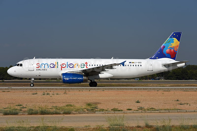Small Planet Airlines (Lithuania) Airbus A320-232 LY-SPD (msn 990) AYT (Ton Jochems). Image: 943844.