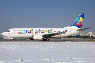 Small Planet Airlines (Lithuania) Boeing 737-31S LY-FLC (msn 29055) MUC (Arnd Wolf). Image: 905981.