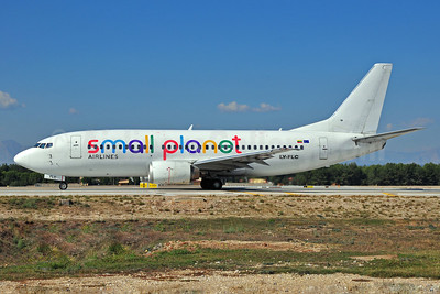 Small Planet Airlines (Lithuania) Boeing 737-31S LY-FLC (msn 29055) AYT (Ton Jochems). Image: 905648.
