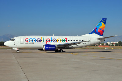 Small Planet Airlines (Lithuania) Boeing 737-382 LY-FLH (msn 25161) AYT (Ton Jochems). Image: 933139.