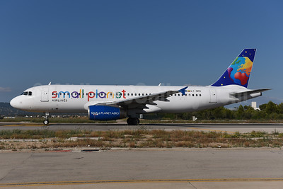 Small Planet Airlines (Lithuania) Airbus A320-232 LY-SPD (msn 990) PMI (Ton Jochems). Image: 943843.