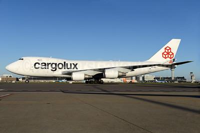 Cargolux Airlines International (Luxembourg) Boeing 747-4EVF ER LX-JCV (msn 35171) AMS (Ton Jochems). 935749.