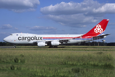 Cargolux Airlines International (Luxembourg) Boeing 747-4R7F LX-WCV (msn 35804) LUX (Jacques Guillem Collection). Image: 939649.