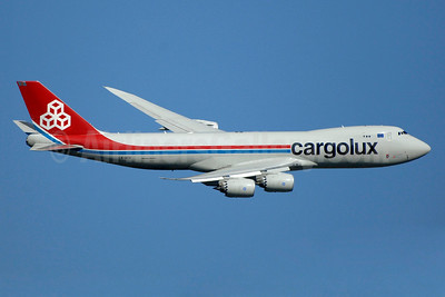Cargolux Airlines International (Luxembourg) Boeing 747-8R7F LX-VCG (msn 35812) JFK (TMK Photography). Image: 939650.
