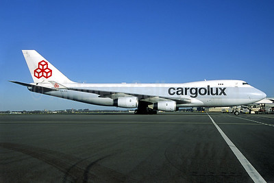 Cargolux Airlines International (Luxembourg) Boeing 747-467 (F) LX-FCL (msn 27503) (partial Cathay Pacific colors) (Jacques Guillem Collection). Image: 939646.