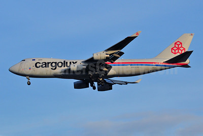 Cargolux Airlines International (Luxembourg) Boeing 747-4R7F LX-WCV (msn 35804) BKK (Ken Petersen). Image: 908919.