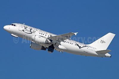 Global Jet Luxembourg Airbus A319-115 (ACJ) LX-GVV (msn 3542) LAX (Michael B. Ing). Image: 939763.