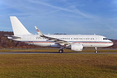 Global Jet Luxembourg Airbus A319-115 WL (ACJ) P4-MGU (msn 5445) ZRH (Rolf Wallner). Image: 932853.