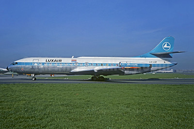 Luxair (Luxembourg Airlines) Sud Aviation SE.210 Caravelle 6R LX-LGF (msn 166) LBG (Christian Volpati). Image: 902262.