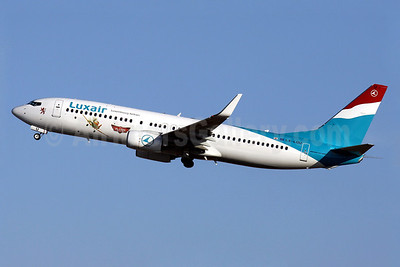 "Luxair's promotional ""Disney Planes"" logo jet"