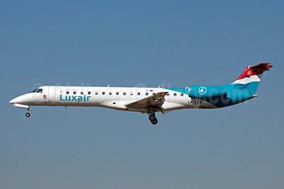 Luxair-Luxembourg Airlines Embraer ERJ 145LU (EMB-145LU) LX-LGX (msn 145147) BCN (Bernardo Andrade). Image: 908821.