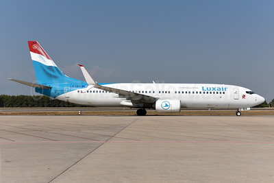 Luxair-Luxembourg Airlines Boeing 737-8C9 SSWL LX-LBA (msn 43537) AYT (Ton Jochems). Image: 939645.