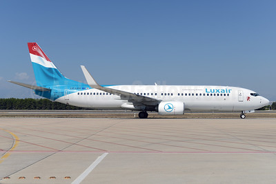 Luxair-Luxembourg Airlines Boeing 737-8C9 WL LX-LGV (msn 41190) AYT (Ton Jochems). Image: 924420.
