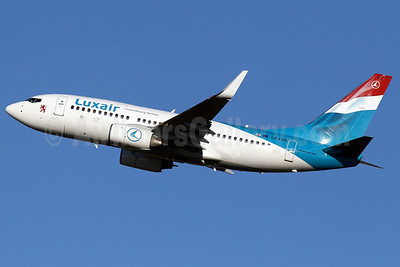 Luxair-Luxembourg Airlines Boeing 737-7C9 WL LX-LGS (msn 33956) PMI (Javier Rodriguez). Image: 901588.