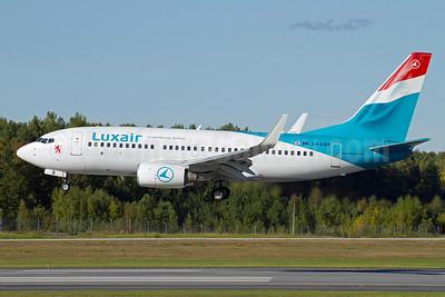 Luxair-Luxembourg Airlines Boeing 737-7C9 WL LX-LGR (msn 33803) ARN (Stefan Sjogren). Image: 907566.