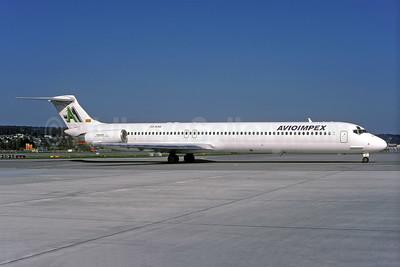 Avioimpex McDonnell Douglas DC-9-83 (MD-83) Z3-AAC (msn 49442) ZRH (Rolf Wallner). Image: 941080.