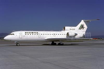 Avioimpex Yakovlev Yak-42 RA-42389 (msn 4520424016542) ZRH (Rolf Wallner). Image: 941082.