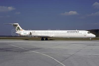 Avioimpex McDonnell Douglas DC-9-81 (MD-81) Z3-ARB (S5-ABE) (msn 48046) ZRH (Rolf Wallner). Image: 941078.