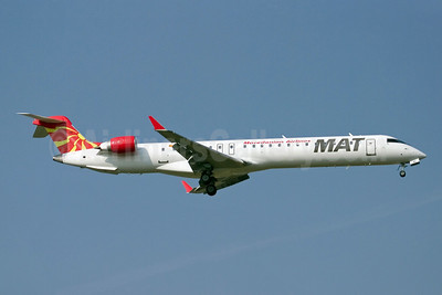 MAT-Macedonian Airlines Bombardier CRJ900 (CL-600-2D24) Z3-AAG (msn 15001) VIE (Andy Graf). Image: 920556.