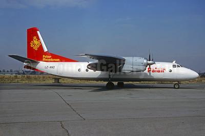 Palair Macedonian Airlines Antonov An-24B LZ-ANO (msn 87304406) SOF (Christian Volpati Collection). Image: 935251.