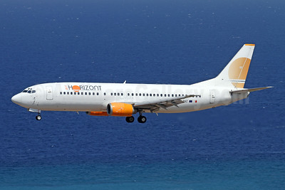 Air Horizont Boeing 737-436 9H-ZAZ (msn 25349) RHO (Andi Hiltl). Image: 947690.
