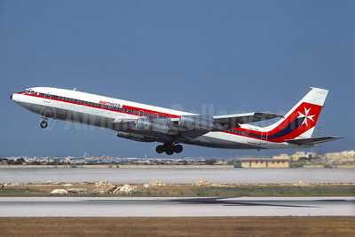 Air Malta (2nd) (TAP Air Portugal) Boeing 707-3F5C CS-TBU (msn 20515) MLA (Jacques Guillem Collection). Image: 930620.
