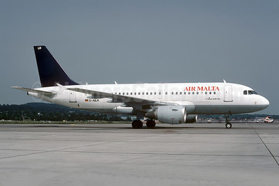 Leased from Lufthansa on June 5, 2001