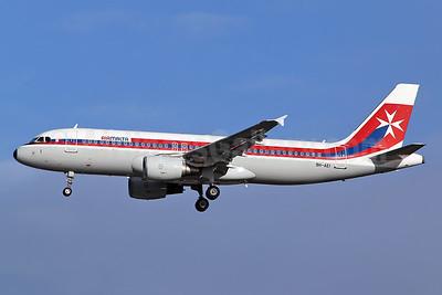 Air Malta (2nd) Airbus A320-214 9H-AEI (msn 2189) LHR (Keith Burton). Image: 937518.