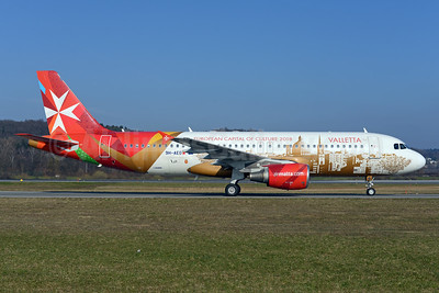 Air Malta (airmalta.com) A320-214 9H-AEO (msn 2768) (Valletta - European Capital of Culture 2018) AMS (Ton Jochems). Image: 911862.