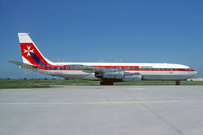Air Malta (2nd) (TAP Air Portugal) Boeing 707-3F5C CS-TBU (msn 20515) ORY (Jacques Guillem). Image: 932483.