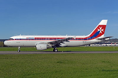 Air Malta's 1974 retro jet