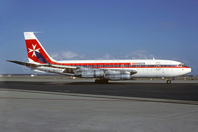Air Malta (2nd) Boeing 720-047B 9H-AAK (msn 18063) AMS (Jacques Guillem Collection). Image: 922997.