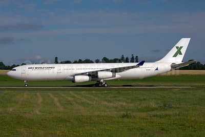 AirX World Cargo (AirX Charter) Airbus A340-313 9H-NFC (msn 245) HHN (Rainer Bexten). Image: 954605.
