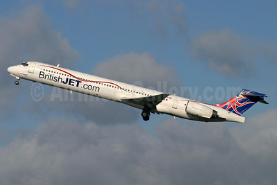 BritishJET.com (Hello) McDonnell Douglas MD-90-30 HB-JIB (msn 53553) LGW (Antony J. Best). Image: 935272.