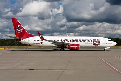 Corendon Airlines (Europe) Boeing 737-85R WL 9H-CXA (msn 42804) (1.FC Nürnberg) NUE (Gunter Mayer). Image: 955457.