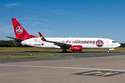 Corendon Airlines (Europe) Boeing 737-85R WL 9H-CXA (msn 42804) (1.FC Nürnberg) NUE (Gunter Mayer). Image: 951157.
