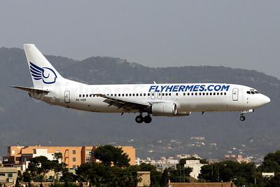FlyHermes.com (Hermes Aviation) (Malta) Boeing 737-4K5 9H-HER (msn 24901) PMI (Javier Rodriguez). Image: 923123.