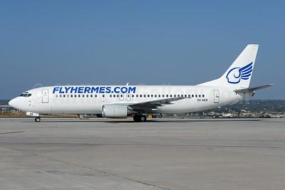 FlyHermes.com (Hermes Aviation) (Malta) Boeing 737-4K5 9H-HER (msn 24901) PMI (Ton Jochems). Image: 923262.