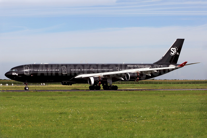 Swiss Space Systems - S3 - Mirpuri Foundation (Hifly Malta) Airbus A340-313 9H-TQM (msn 117) MST (Rainer Bexten). Image: 939856.