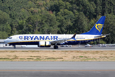 Ryanair (Malta Air) Boeing 737-8 (200) MAX 8 9H-VUG (msn 65077) BFI (Joe G. Walker). Image: 955234.