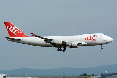 ATC - AeroTransCargo-Air One Boeing 747-412 (F) ER-BBJ (msn 26558) FRA (Bernhard Ross). Image: 954267.