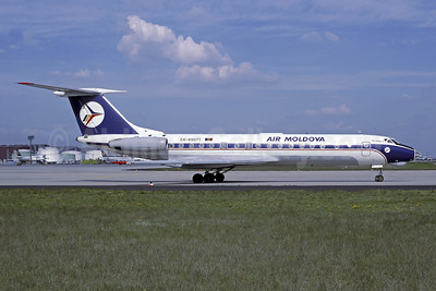 Air Moldova Tupulev Tu-134A-3 ER-65071 (msn 49915) FRA (Christian Volpati Collection). Image: 941233.