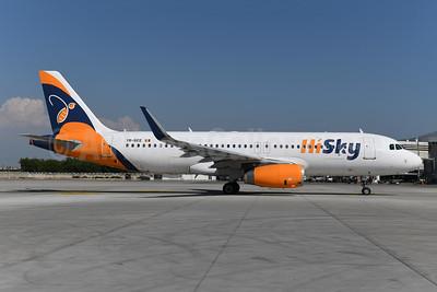 HiSky Airbus A320-232 WL YR-BEE (msn 6223) AYT (Ton Jochems). Image: 954982.