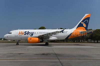 HiSky Airbus A319-131 ER-SKY (msn 2326) AYT (Ton Jochems). Image: 954981.