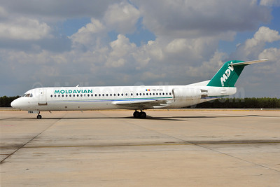 Moldavian Airlines-MDV Fokker F.28 Mk. 0100 YR-FZA (msn 11395) AYT (Ton Jochems). Image: 920576.