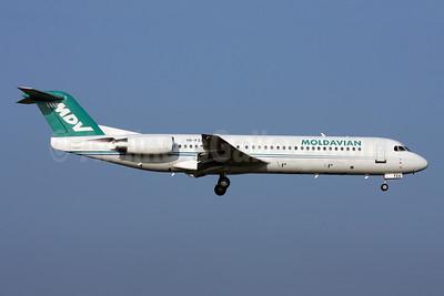 Moldavian Airlines-MDV Fokker F.28 Mk. 0100 YR-FZA (msn 11395) ZRH (Andi Hiltl). Image: 920575.