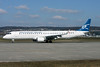 Montenegro Airlines Embraer ERJ 190-200LR (ERJ 195) 4O-AOC (msn 19000358) ZRH (Andi Hiltl). Image: 911505.