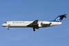 Montenegro Airlines Fokker F.28 Mk. 0100 4O-AOP (msn 11332) LGW (Terry Wade). Image: 901617.